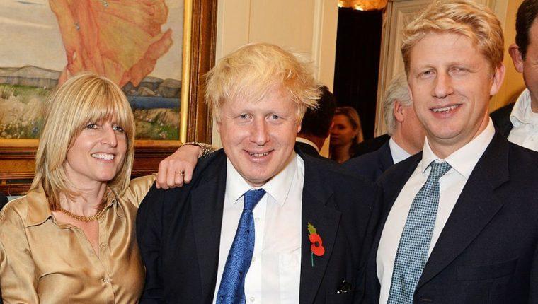 Rachel Johnson dijo que la familia evita el tema del Brexit, especialmente en las comidas.