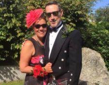 Suzanne dice que su esposo Owen ha sido un increíble apoyo.