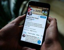 El presidente de Cuba, Miguel Díaz-Canel, utiliza Twitter con regularidad.