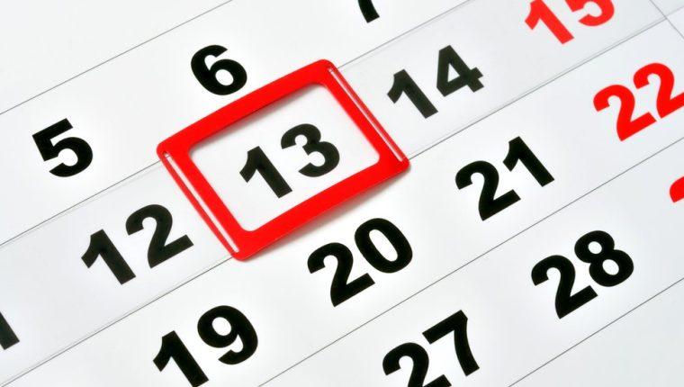 Aunque parezca poco frecuente, todo mes que comience en domingo, siempre tendrá en viernes 13. GETTY IMAGES