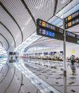 El nuevo mega aeropuerto de China mide 700.000 metros cuadrados.