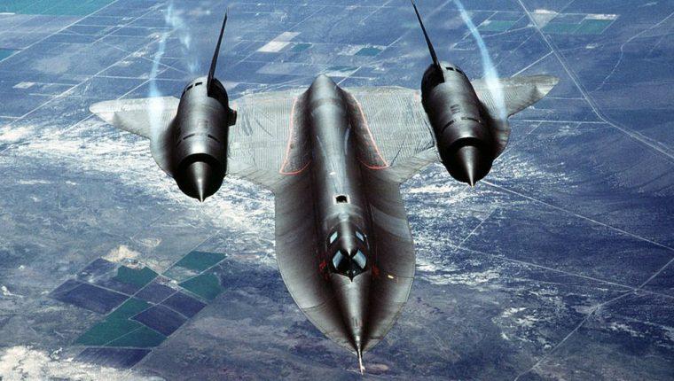 El Blackbird es uno de los aviones espía de la Fuerza Aérea de EE.UU.