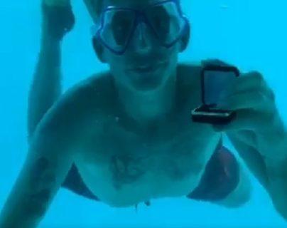La novia de Steven Weber grabó su romántica petición de matrimonio bajo el agua protagonizada en isla Pemba, Tanzania