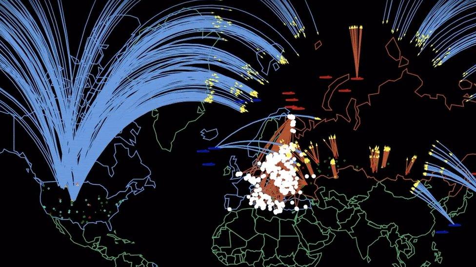 """""""34 millones de muertos en pocas horas"""": la simulación de la Universidad de Princeton que muestra la devastación que causaría una guerra nuclear entre Rusia y EE.UU."""