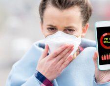 Nueve de cada 10 personas respira aire contaminado, de acuerdo a la Organización Mundial de la Salud.