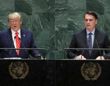 Donald Trump y Jair Bolsonaro realizaron los primeros discursos de la Asamblea General de la ONU.