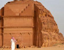La tumba de Qasr al-Farid en Madain Saleh es Patrimonio Mundial de la Unesco.