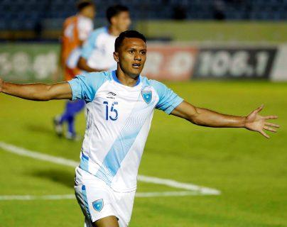 Jorge Vargas durante un partido con la selección nacional ante Aguila en septiembre de 2019. (Foto Prensa Libre: EFE).