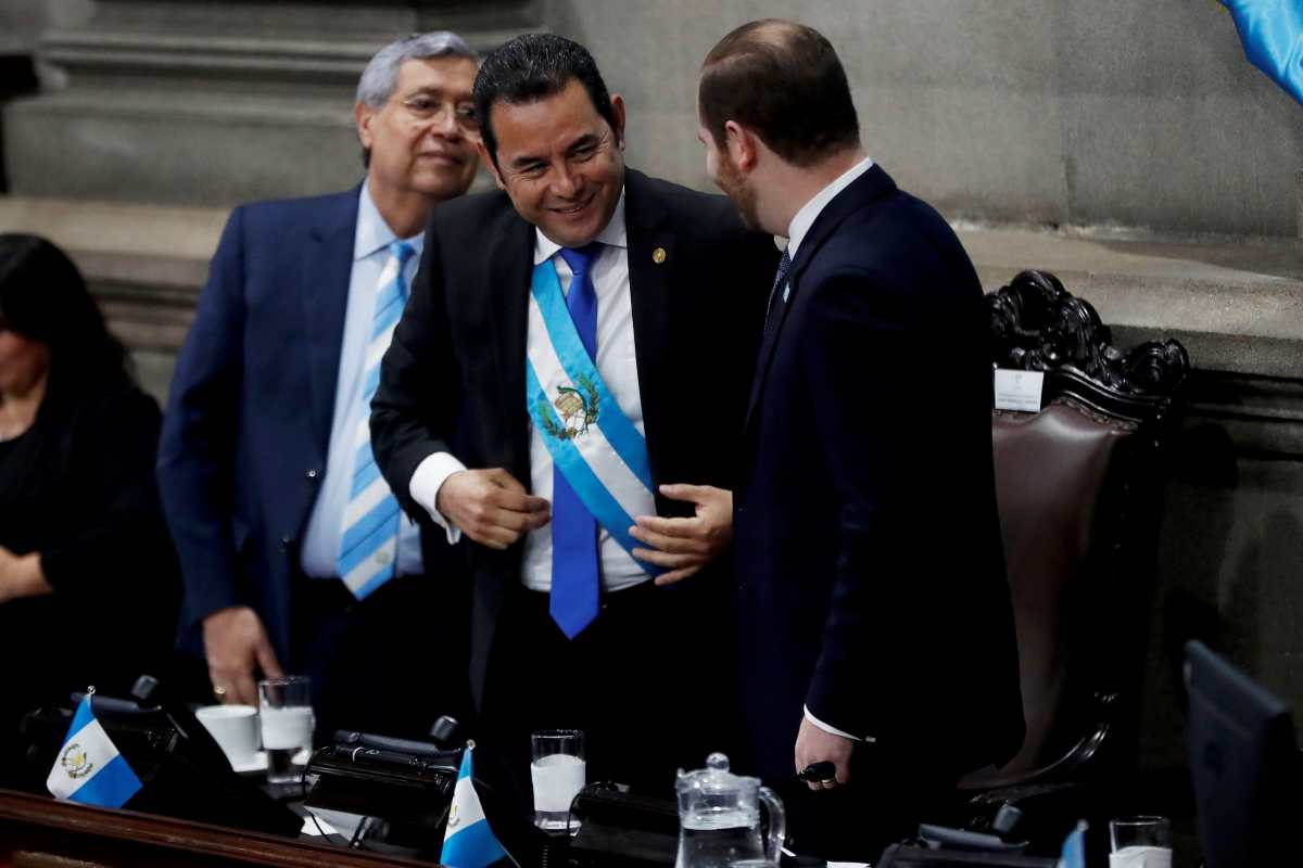 Parlacén: el debate sobre la inmunidad que otorgaría a Jimmy Morales y Jafeth Cabrera