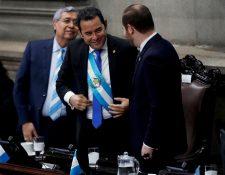 Jimmy Morales y Jafeth Cabrera asumirán como diputados al Parlamento Centroamericano (Foto Prensa Libre: Hemeroteca PL)