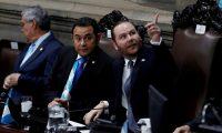 El presidente del Congreso, Álvaro Arzú Escobar, es uno de los diputados que se ha mostrado en contra del trabajo de la Cicig. (Foto Prensa Libre: EFE)