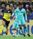 El Dortmund recibe al Barcelona. (Foto Prensa Libre: EFE)