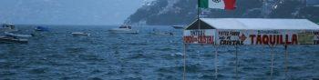 AME8693. ACAPULCO (MÉXICO), 17/09/2019.- Fotografía este martes del mar en el balneario de Acapulco, en el estado de Guerrero (México). La tormenta tropical Mario se formó este martes horas después de que el ciclón Lorena alcanzara la misma categoría, ambas en las aguas del Pacífico mexicano, informó el Servicio Meteorológico Nacional (SMN). La presencia de estas dos tormentas tropicales refuerza el potencial de lluvias en el oeste del país, indicó el SMN en los reportes sobre ambos ciclones. EFE/David Guzmán