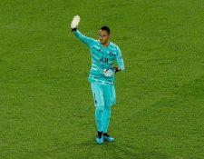 Keylor Navas está ilusionado con su nueva aventura en el PSG. (Foto Prensa Libre: EFE)