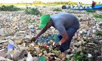 Contaminación del río Motagua en la comunidad de Quetzalito, municipio de Santo Tomás,Guatemala. (Foto Prensa Libre: Hemeroteca PL)