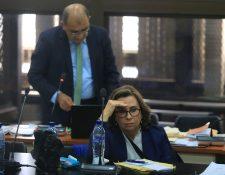 La ex primera dama de Guatemala y excandidata a la presidencia, Sandra Torres. (Foto Prensa Libre: EFE)