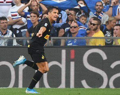 El delantero chileno Alexis Sánchez volverá al Camp Nou, ahora con el Inter de Milán. (Foto Prensa Libre: EFE)