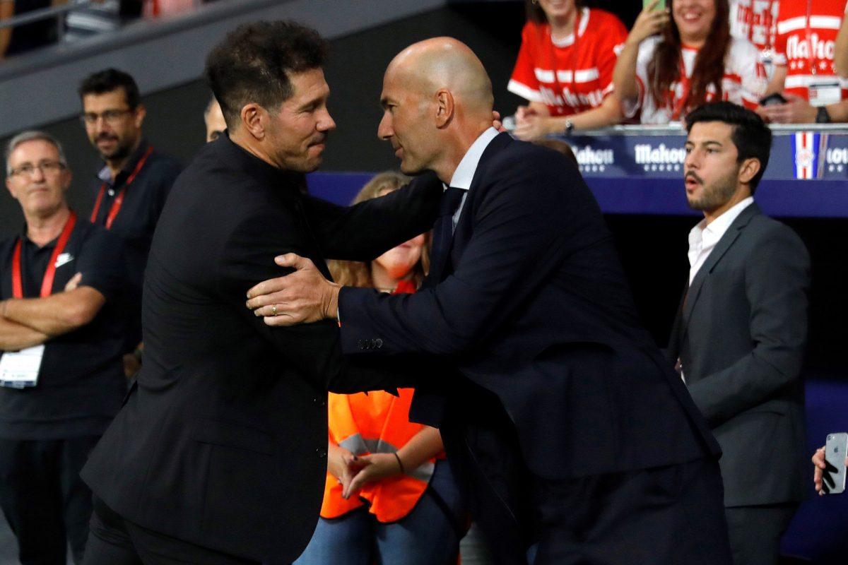Zidane defiende a Hazard después del derbi madrileño