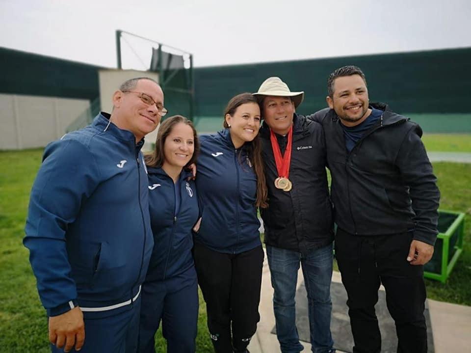 Guatemala gana dos medallas de  oro y un bronce en Iberoamericano de escopeta