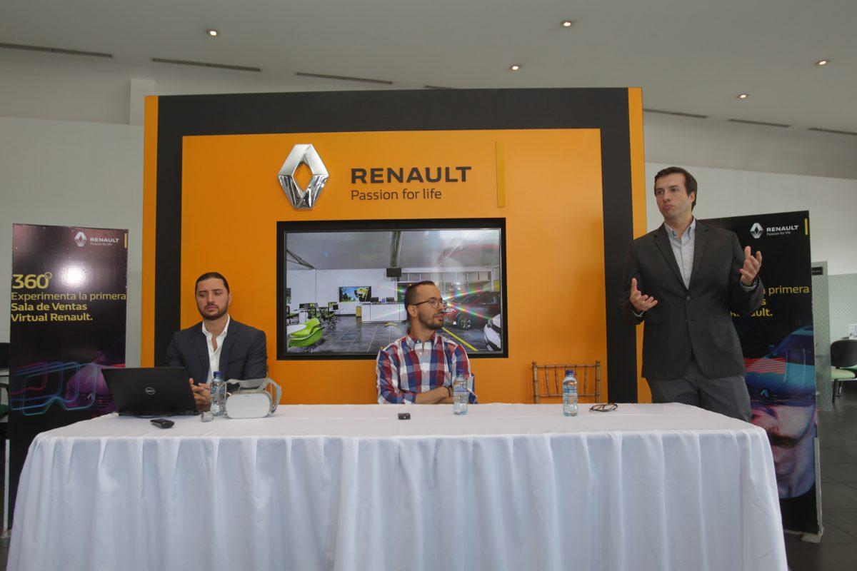 Renault lanza su Tour Virtual 360