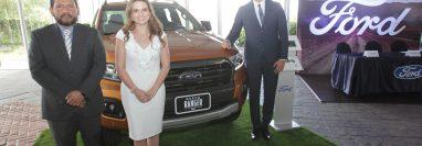 Excel presentó el nuevo Ford Ranger, que viene con mejoras tecnológicas. Foto Norvin Mendoza