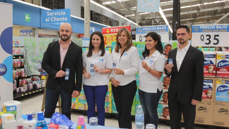 Walmart y P&G presentaron la nueva campaña que llevará agua limpia a las comunidades. Foto Norvin Mendoza