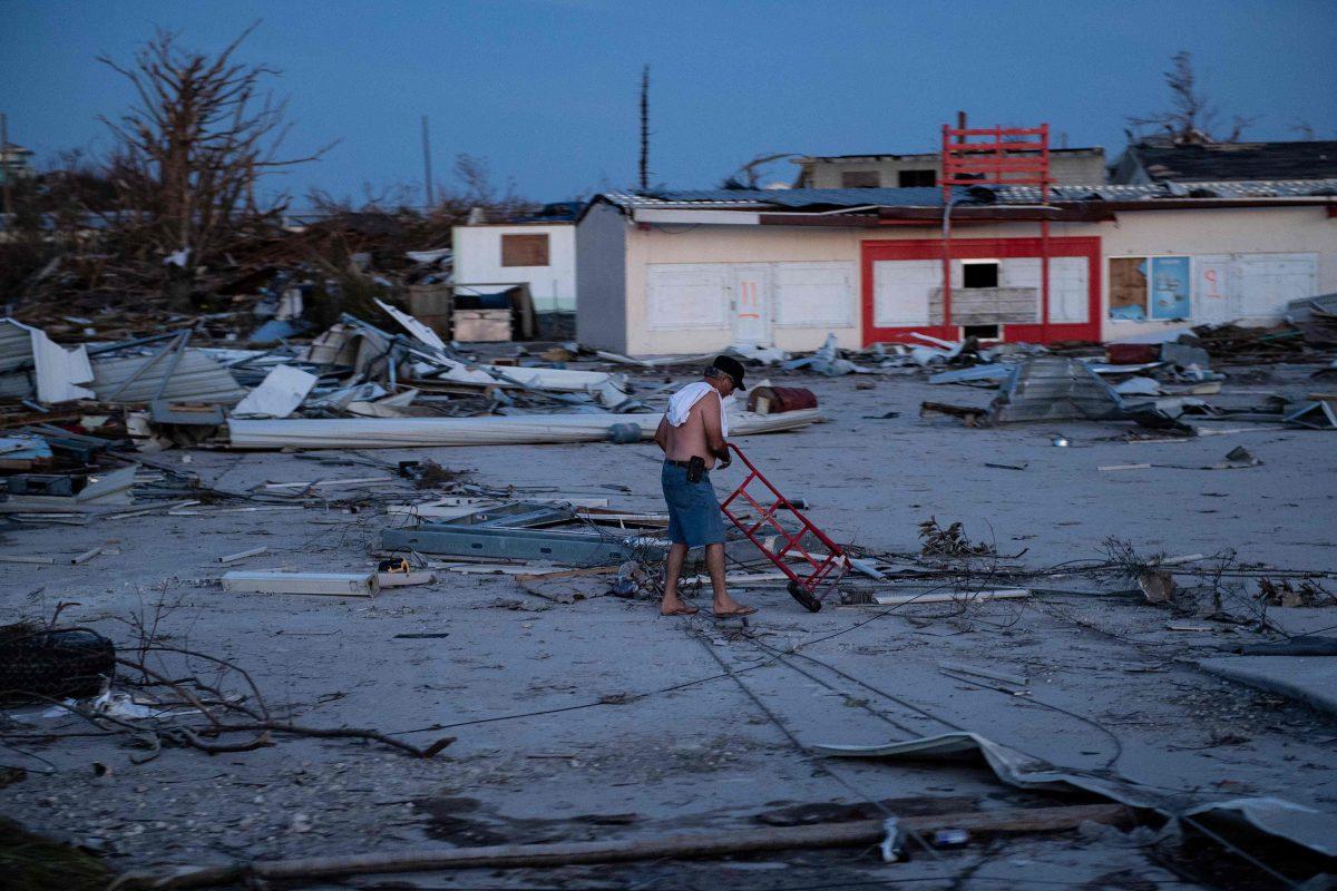 Suman 30 los fallecidos por el huracán Dorian en las Bahamas