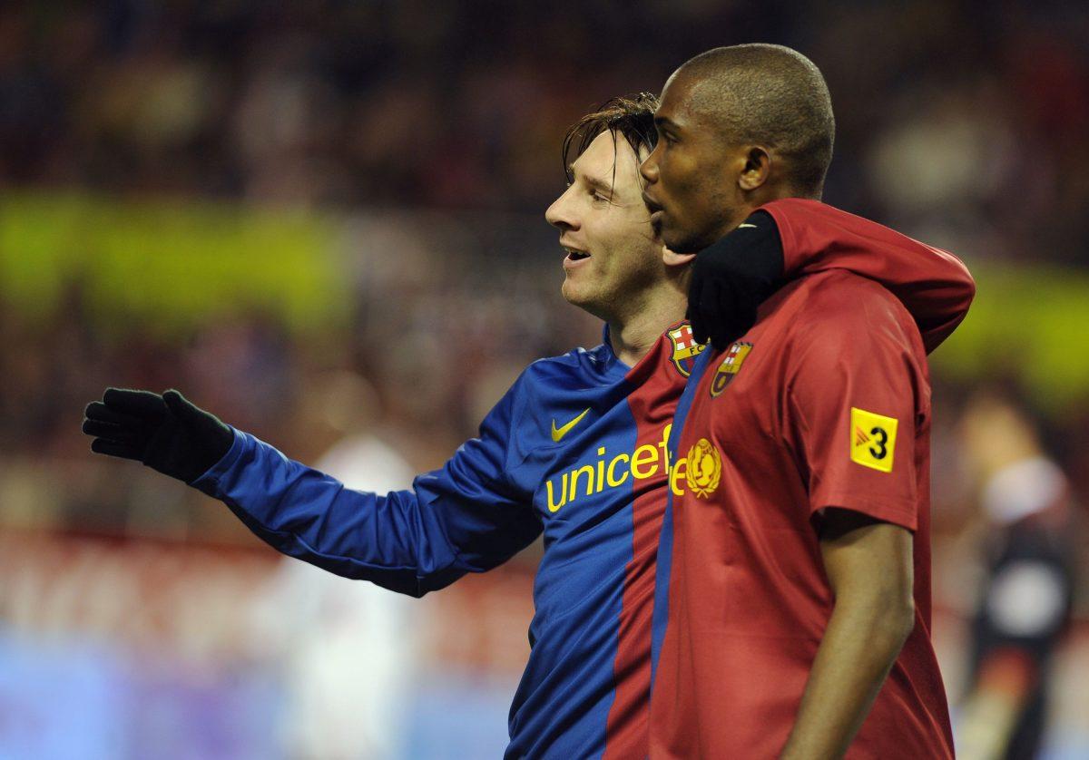 "Eto'o: ""Espero que Messi no juegue contra el Inter"""