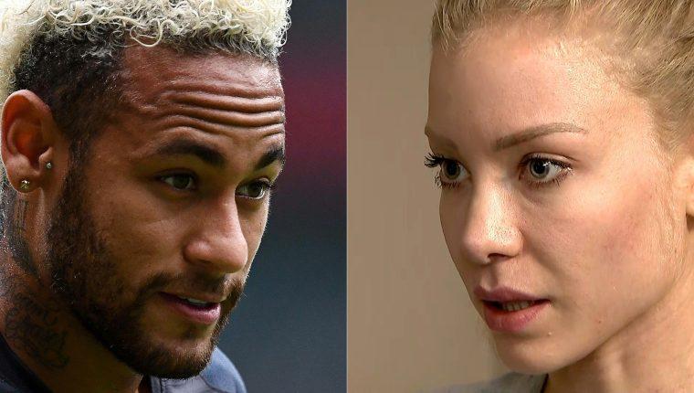 El futbolista brasileño ha pasado momentos complicados por la acusación de la modelo. (Foto Prensa Libre: AFP)