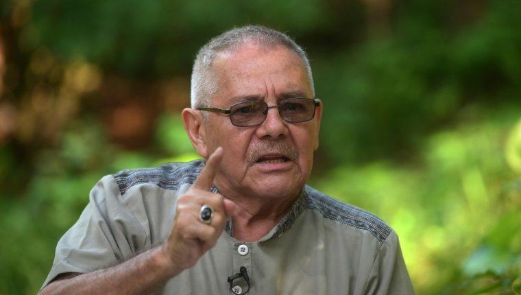 César Montes, exdirigente guerrillero, en septiembre de 2019. (Foto Prensa Libre: Hemeroteca PL)