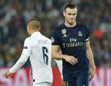 Gareth Bale fue titular en el partido frente al París Saint-Germain. (Foto Prensa Libre: AFP)