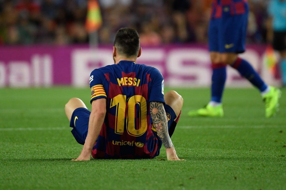 Lionel Messi se vuelve a lesionar después de jugar solo tres partidos tras su regreso