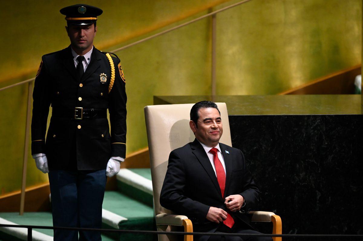 El discurso de Jimmy Morales ante la ONU en 15 frases