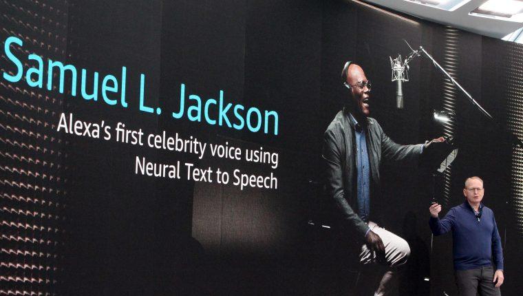 Alexa de Amazon tendrá la voz de Samuel L. Jackson y otros famosos. (Foto Prensa Libre: AFP)