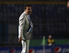 El estratega Amarini Villatoro espera sumar una nueva victoria en el juego del marte contra Puerto Rico. (Foto Prensa Libre: Francisco Sánchez).