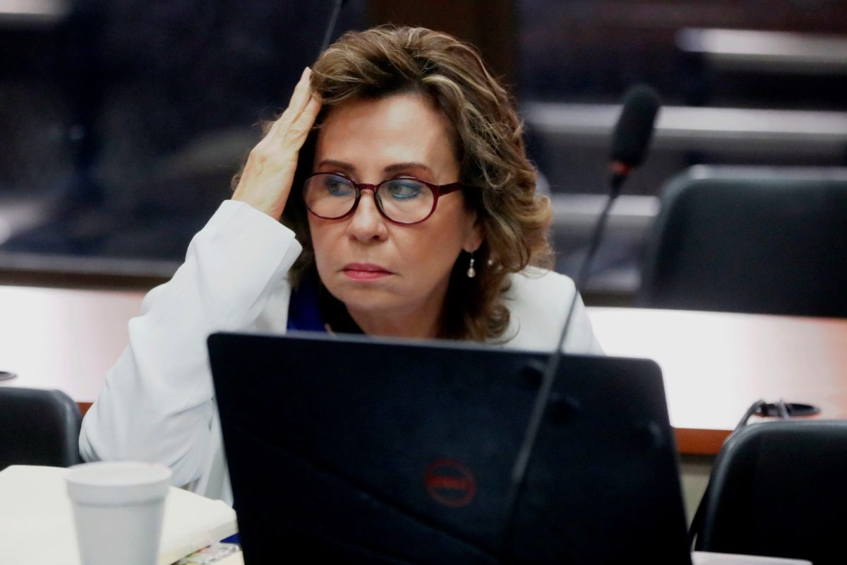 MP pide que Sandra Torres sea ligada a proceso por dos delitos
