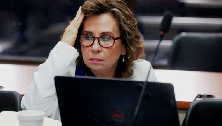 Sandra Torres, exaspirante presidencial de la Unidad Nacional de la Esperanza (UNE). (Foto Prensa Libre: EFE)