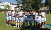 La Selección trabaja en el Centro de Alto Rendimiento de la Fedefut. (Foto Prensa Libre: Fedefut)