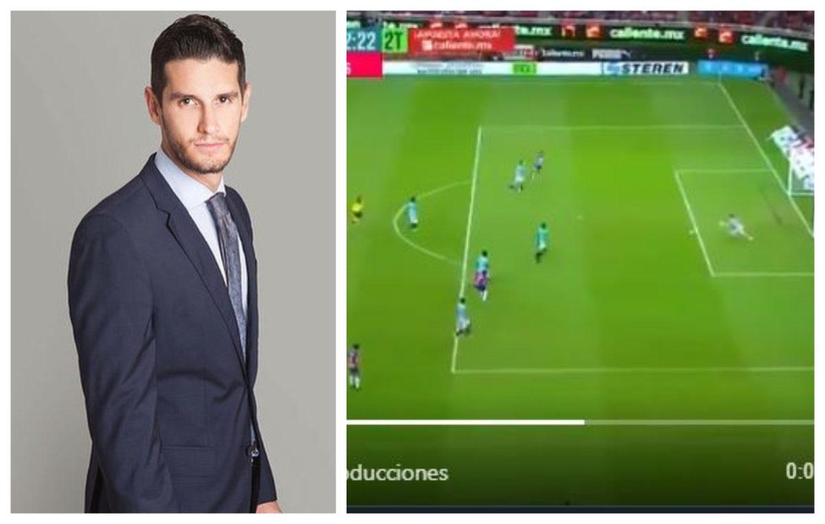 Comentarista de futbol compara una jugada con un feminicidio y provoca indignación