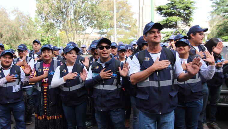 El 23 de julio de 2018 inició el Censo de Población y Vivienda en Quetzaltenango, 14 meses después se conocieron los resultados. (Foto Prensa Libre: María Longo)