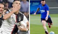 Cristiano Ronaldo y Lionel Messi se volvieron a ver las caras en una premiación individual. (Foto Prensa Libre: Instagram @cristiano y @leomessi)