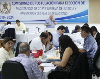La postuladora iba a seleccionar nómina el sábado 21 de septiembre. (Foto Prensa Libre: Hemeroteca PL)