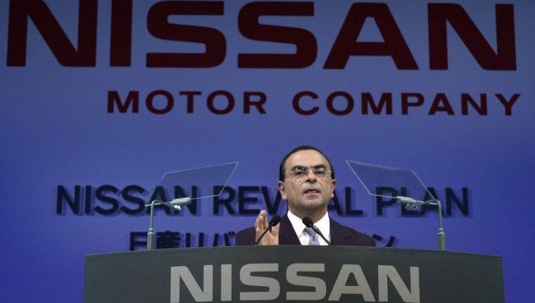 Carlos Ghosn, exCEO de Nissan es acusado en EE. UU. (Foto Prensa Libre: Hemeroteca PL)