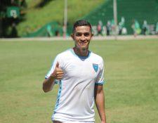 El mediocampista Marvin Ceballos está feliz del buen momento que pasa con la Selección Nacional: (Foto Prensa Libre: cortesía ACD)