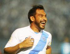 Carlos Ruiz es considerado uno de los mejores jugadores de todos los tiempos del futbol guatemalteco. (Foto Prensa Libre: Hemeroteca PL)