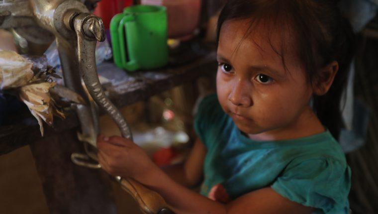 En Chiquimula el 55.6 por ciento de los niños sufre desnutrición crónica. (Foto Prensa Libre: Érick Ávila)