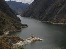 La Hidroeléctrica Chixoy es la más grande del país, tiene un embalse de regulación anual, pero este año no se ha logrado llenar durante el invierno. (Foto, Prensa Libre: Hemeroteca PL).