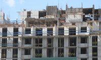 Edificio en construcci—n en la 14 avenida de la zona 2 el cual ser‡ utilizado para apartamentos los cuales ya se encuentran a la venta.  Fotograf'a. Erick Avila:                       26/06/2019