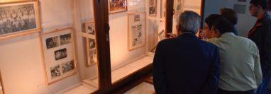 Los visitantes podrán conocer parte de la historia de Carlos López y de los títulos que ha conseguido Quetzaltenango en el  baloncesto. (Foto Prensa Libre: Raúl Juárez)