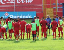 El equipo quetzalteco busca su segundo triunfo en casa y el tercero en el torneo. (Foto Prensa Libre: Raúl Juárez)